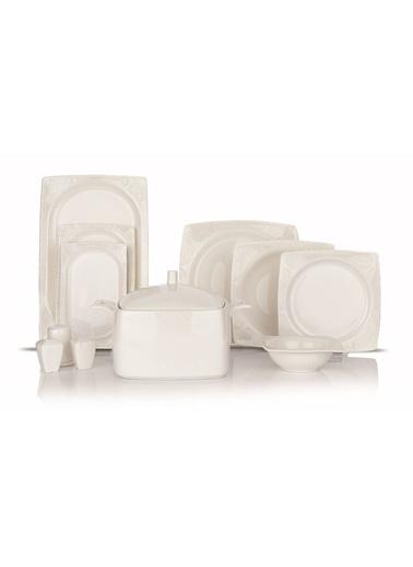 Schafer 60 Prç. Wondel Yemek Takımı - BYZ02 Beyaz